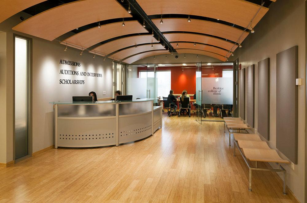 Berklee College of Music, Admissions Department