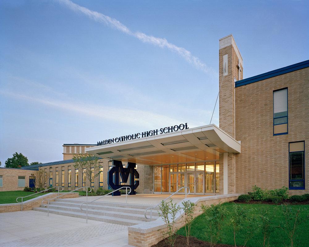 Malden Catholic High School Entrance