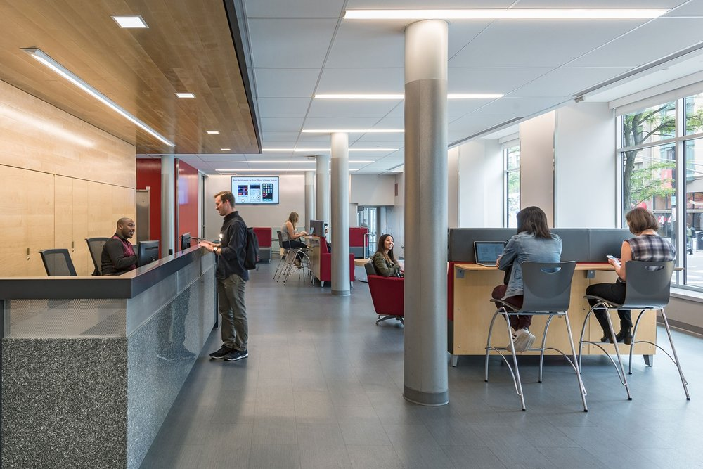 New Elevator Lobby and Student Lounge