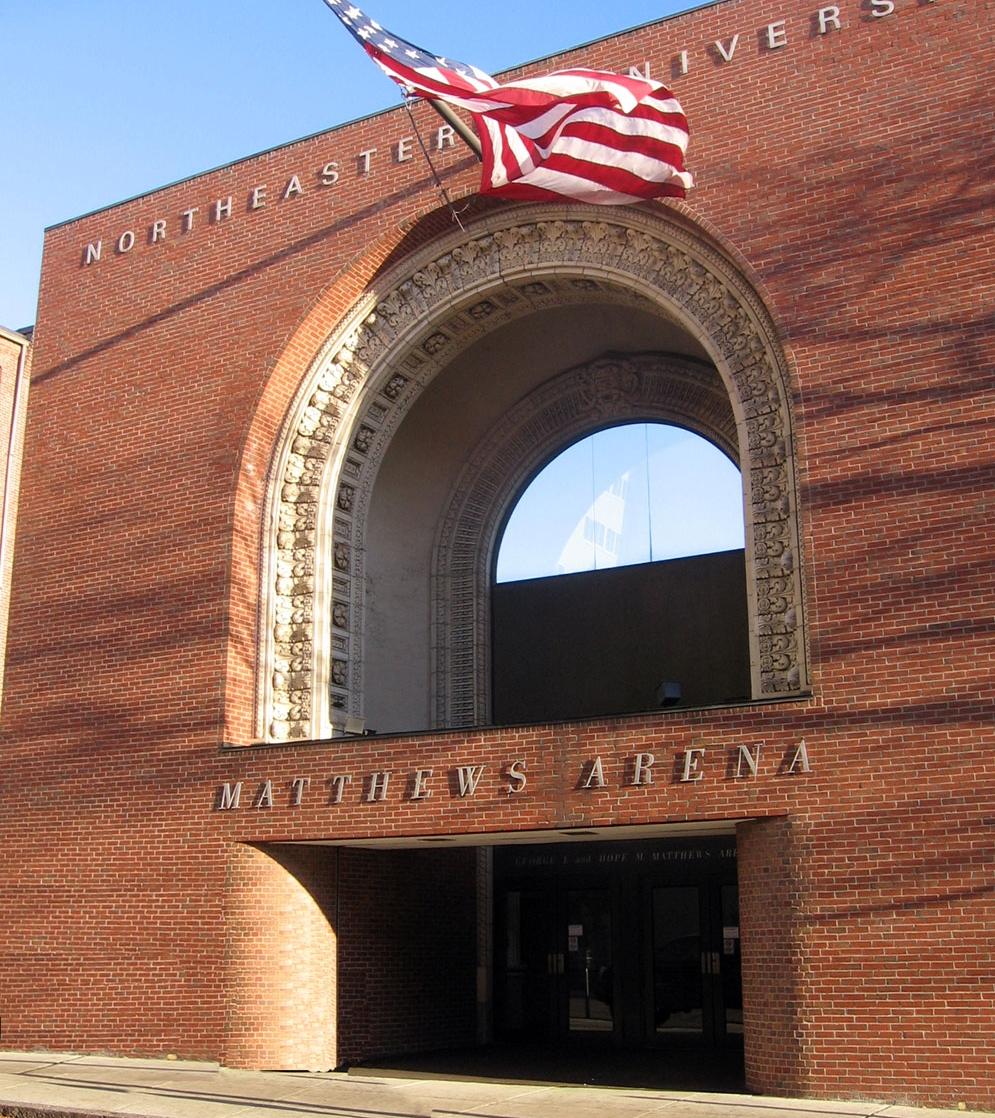 Matthews Arena entrance