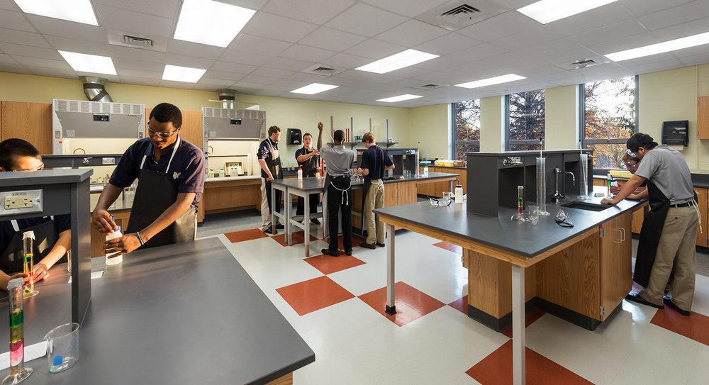 Malden Catholic High School, Science Center Renovation
