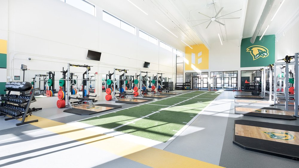 Athletic, training and conditioning facilities