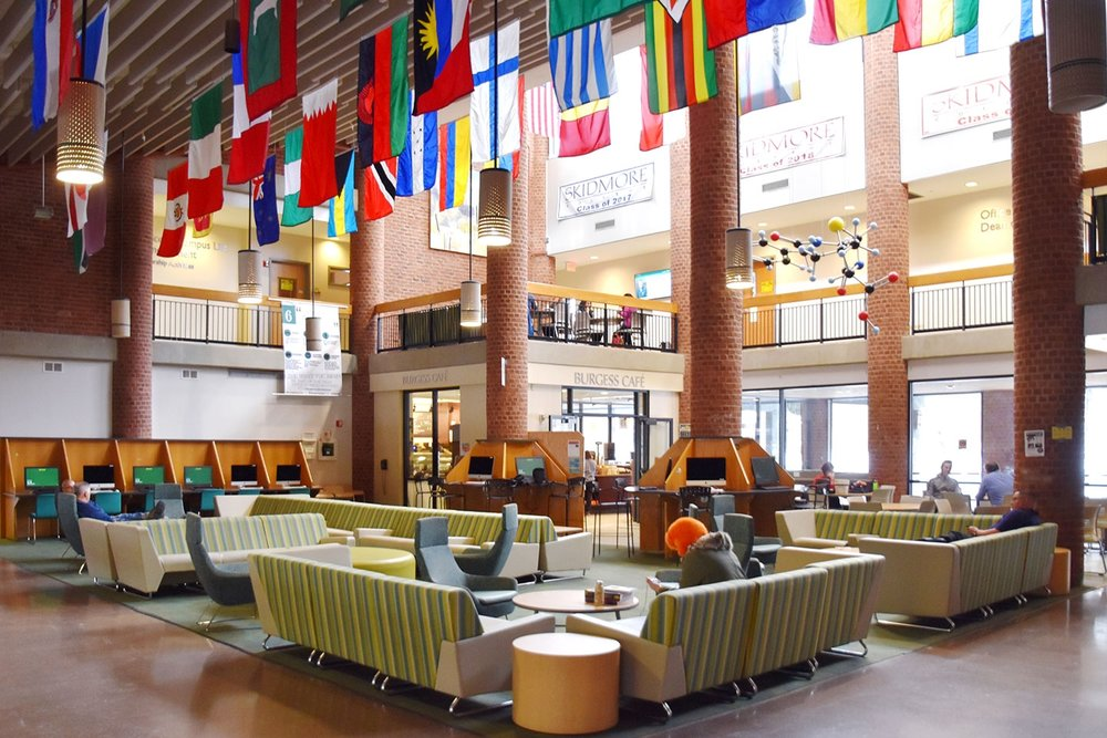 Case Campus Center Lounge