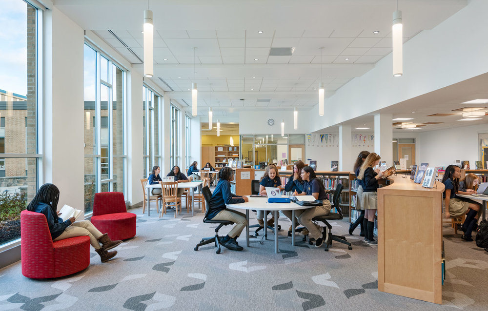 Girls Division Learning Commons