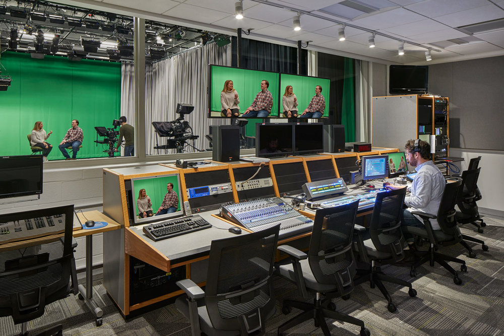 Communications TV Studio