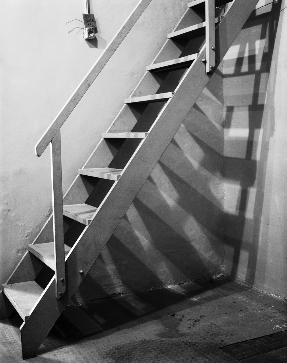 Stairs 2011, Epson fine art print, 50 x 40 cm Ed. of 5