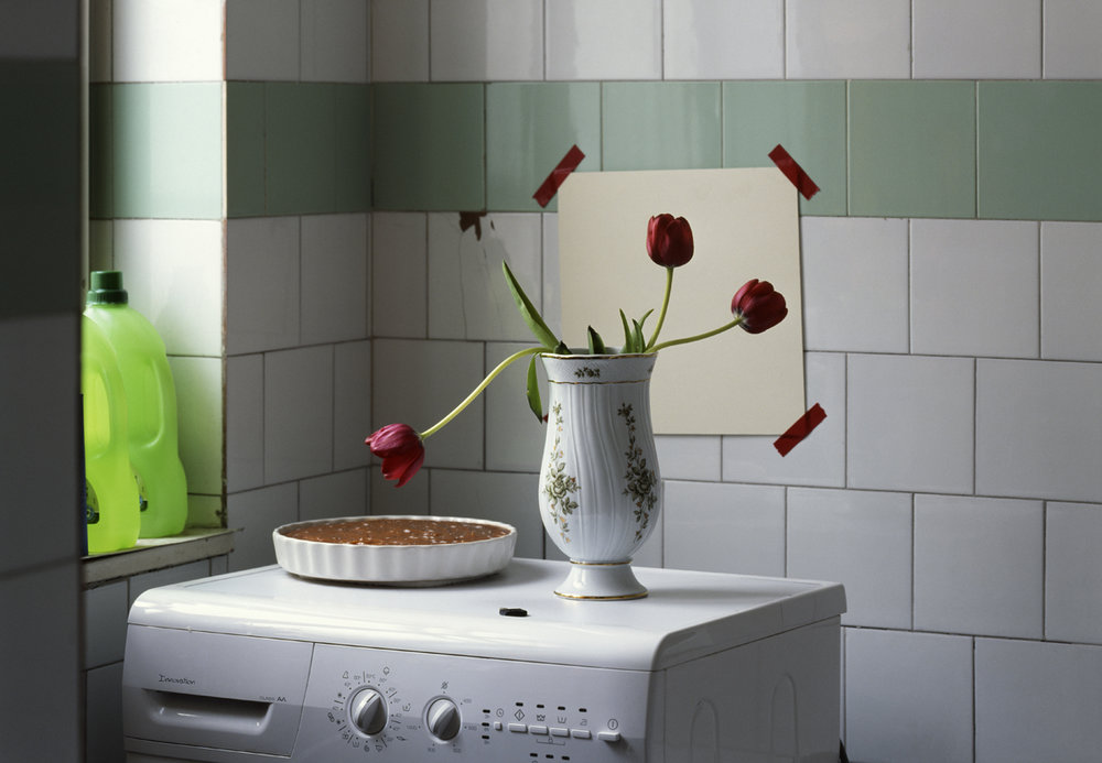 Three tulips and a cake in the bathroom 2009, Epson fine art print, 50 x 69 cm Ed. of 5 + 3 AP