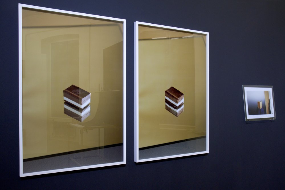 The Ultimate Norm 2015, part of the installation, 2 digital c-prints, 100 x 76 cm each