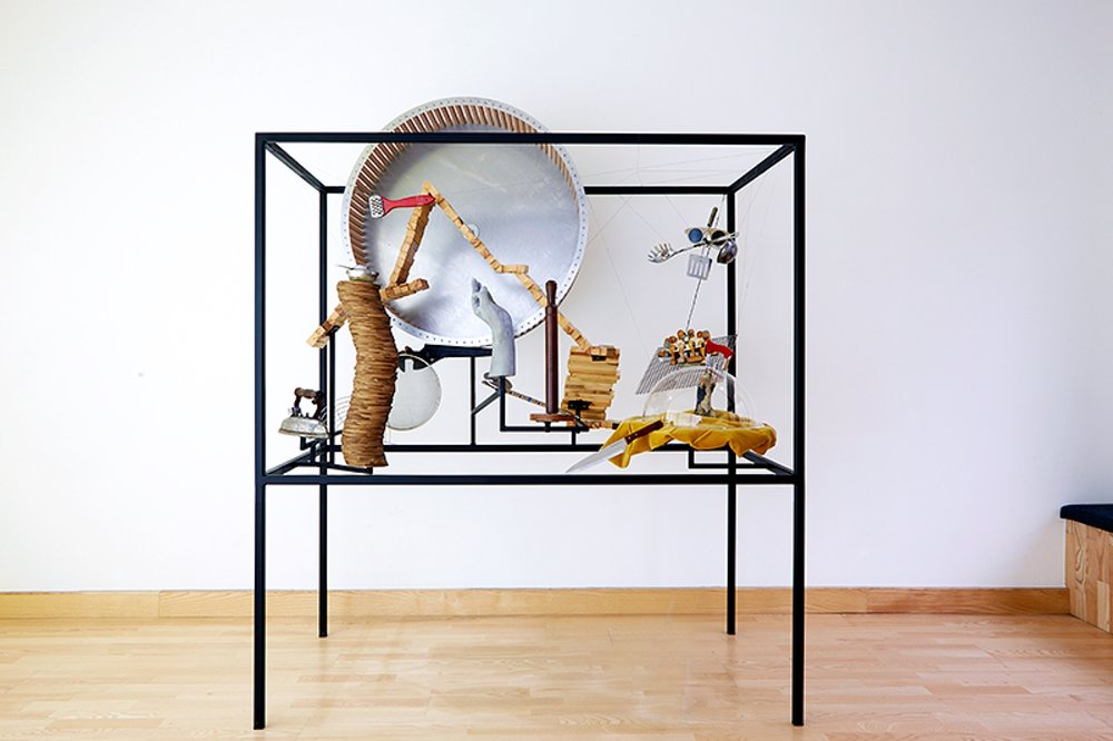 Museum for Rats and People 2015, mixed technique, 180 x 150 x 79,5 cm