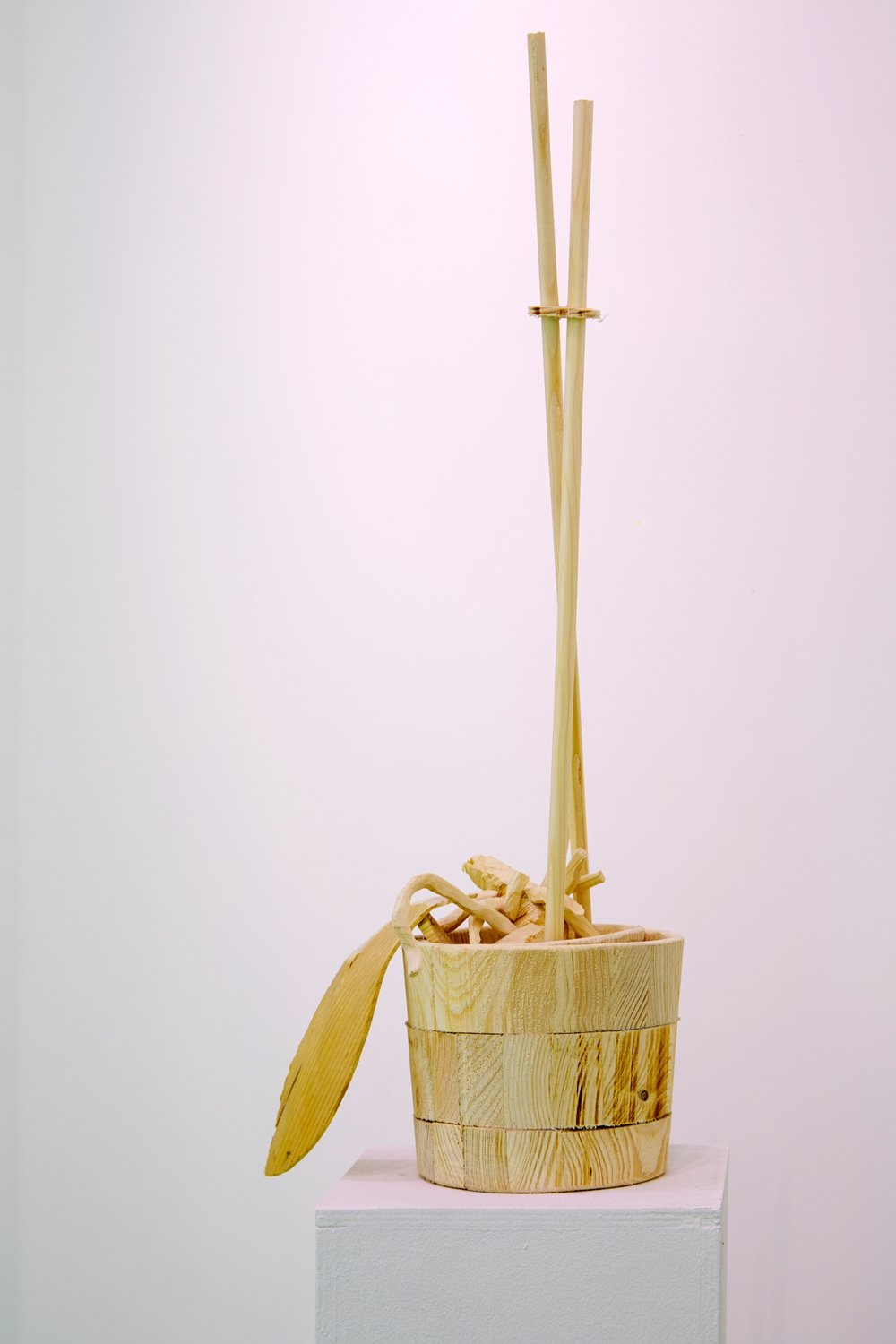 Dead Orchid 2017, wood 60 x 23 x 15 cm ed. of 3, 1/3