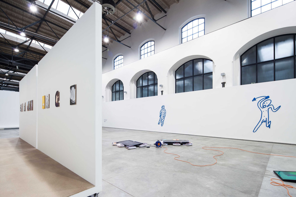 Stupid, (with Radek Brousil) FAIT Gallery, Brno 2018, exhibition view
