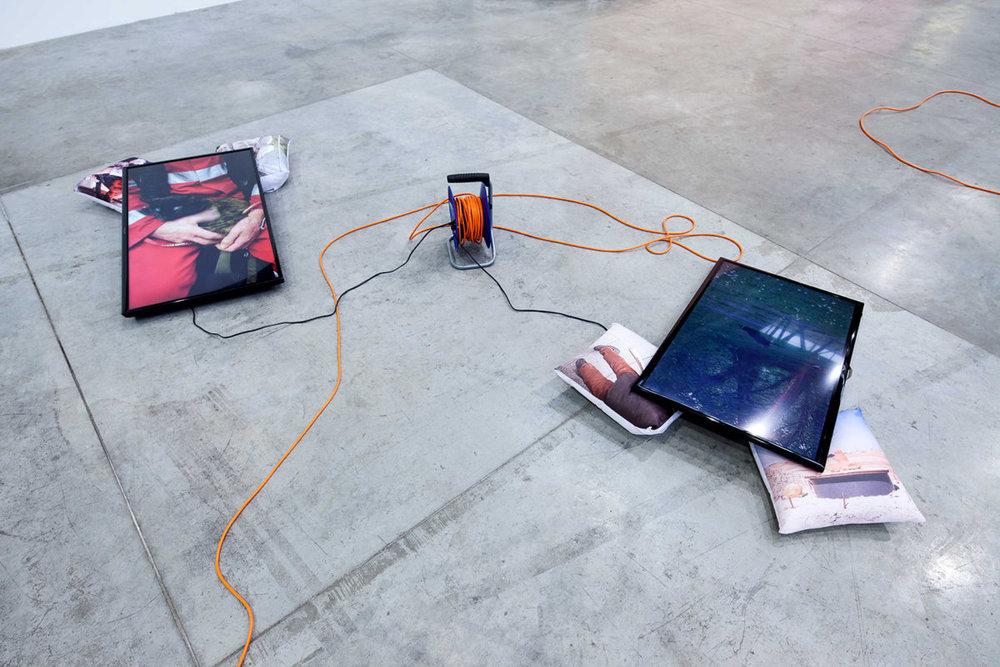 Stupid 2018, (with Péter Puklus) installation view, FAIT Gallery, Brno