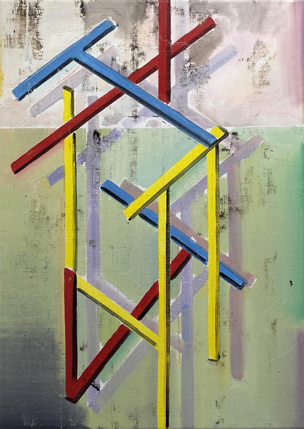Genti Korini: Structure Nr. 29. 2017