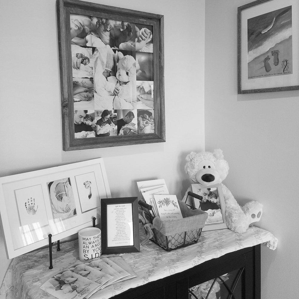 Wyatt's nursery memorial