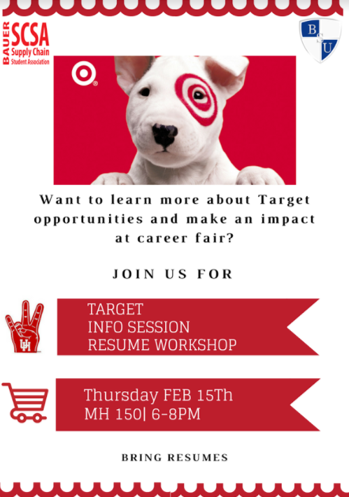 Target Resume Workshop Team Building Workshop Bauer Student Union