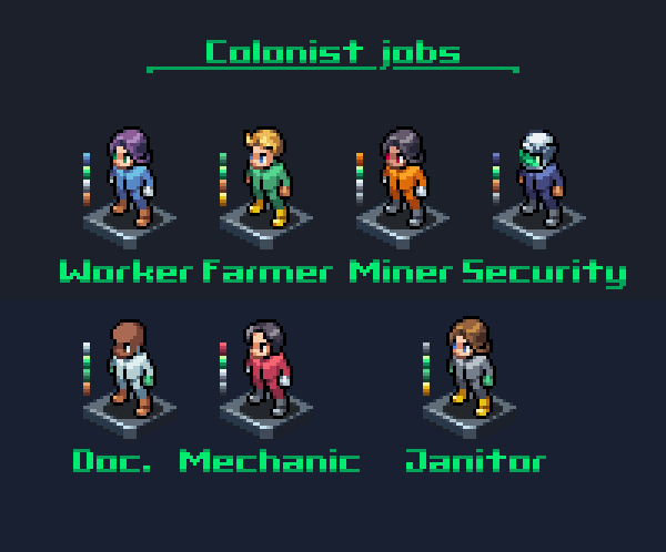 Colonist Jobs