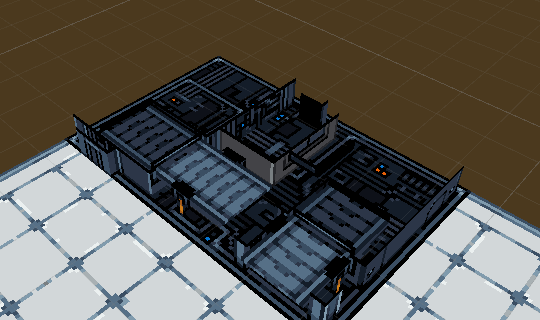 Ore Refinery is ugly on the inside