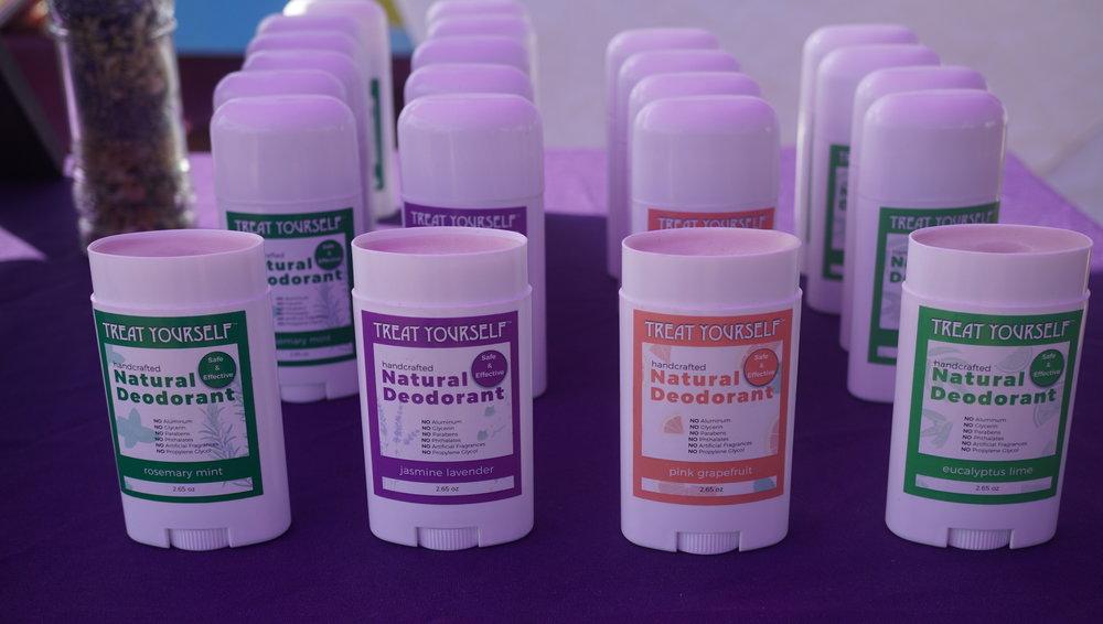 All Natural Deodorants