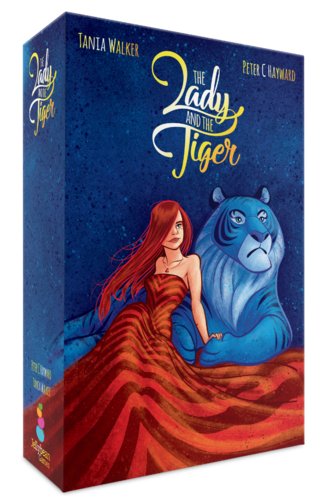 JR designed Bones, one of the games included in Jellybean Games' successful Kickstarter campaign for The Lady and the Tiger.