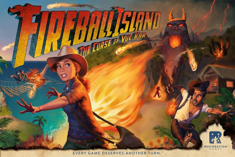 JR is Tinker-in-Chief team at Restoration Games, and is part of the team who brought Fireball Island back.