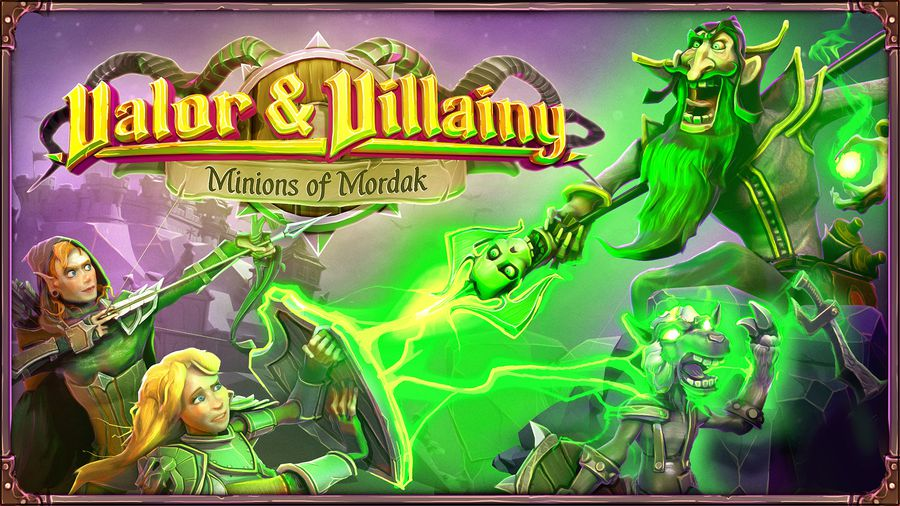 Brian and JR provided development on Minions of Mordak before it was signed by Skybound Games.