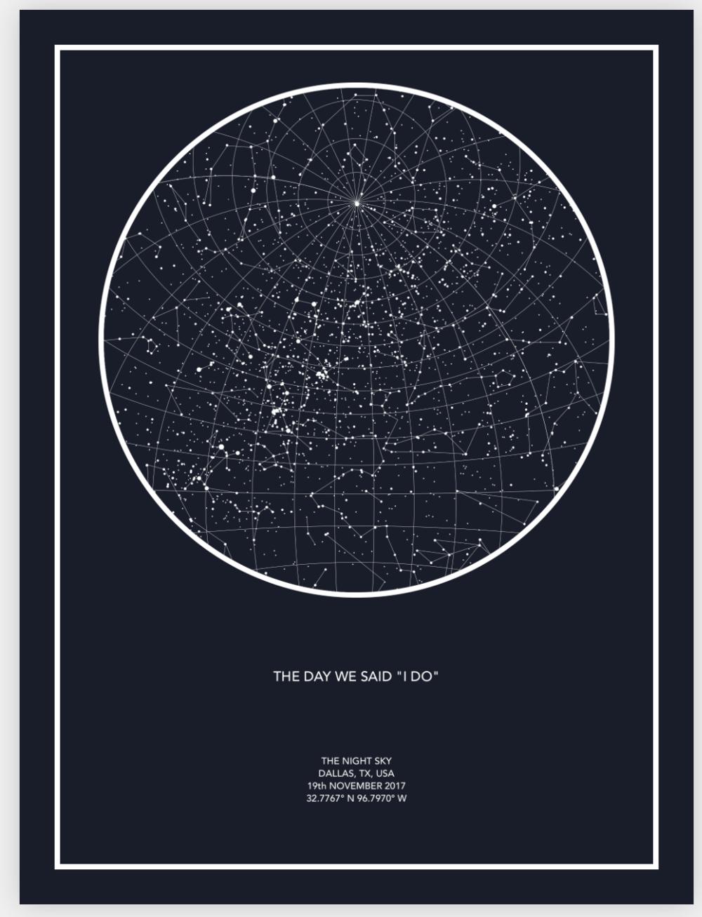 Wedding Day Constellation