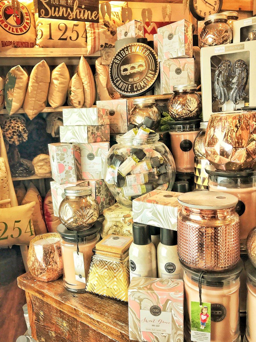 Bridgewater Candle Company: Sweet Grace candles, $23.99; Sweet Grace bar soap, $11.99; Sweet Grace body lotion, $11.99 -       96       Normal  0          false  false  false    EN-US  ZH-CN  AR-SA                                                                                                                                                                                                                                                                                                                                                                                                                                                                                                                                                                                                                                                                                                                                                                                                                                                         /* Style Definitions */ table.MsoNormalTable {mso-style-name: