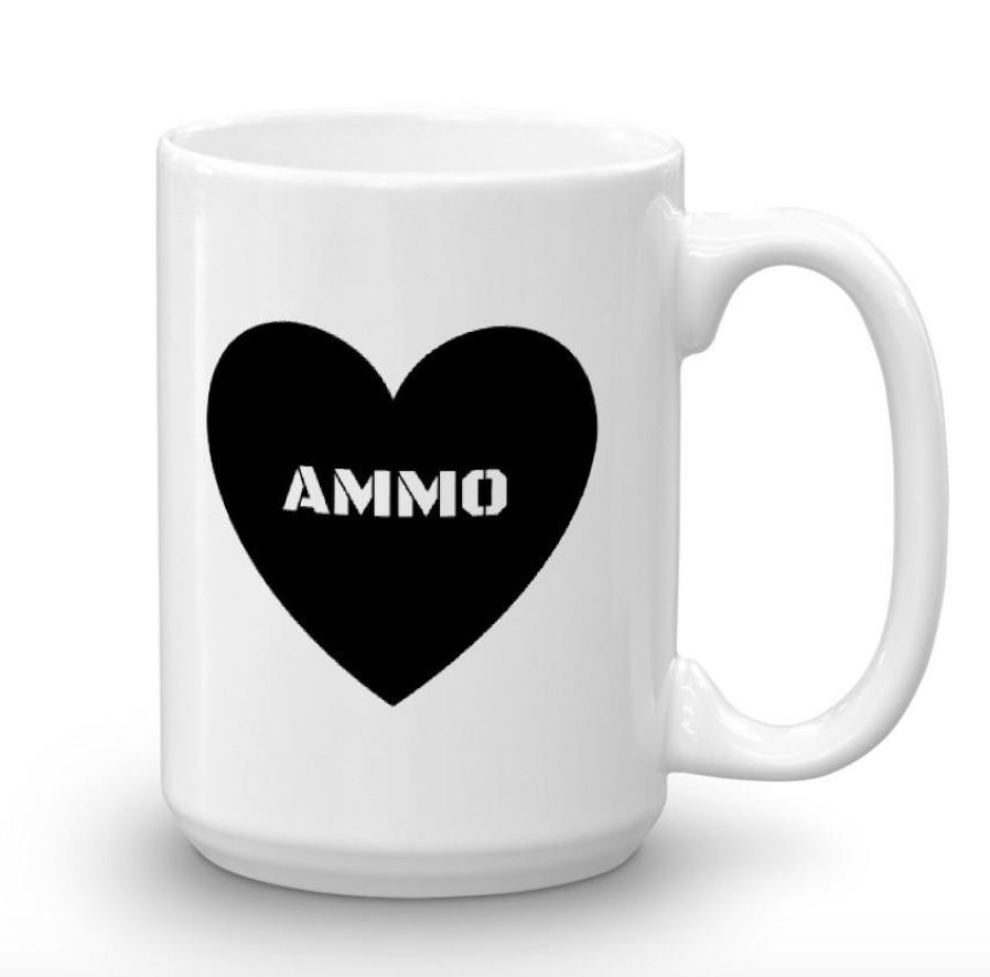 Ammo Love Mug, $25 -