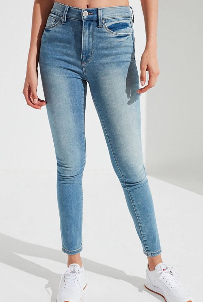 BDG Twig High Rise Skinny Jean Medium Wash, $64  Photo Credit:  Urban Outfitters