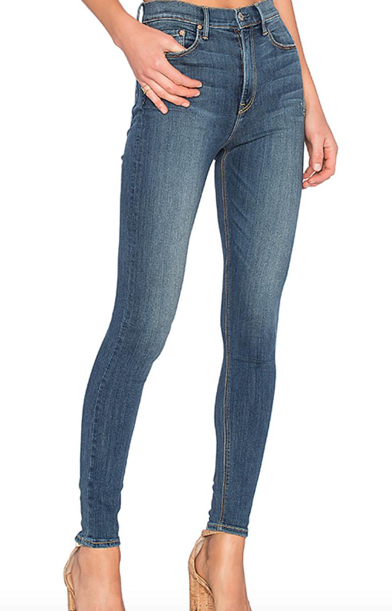 Kendall High-Rise Super Stretch Skinny Jean from GRLFRND, $198  Photo Credit:  Revolve