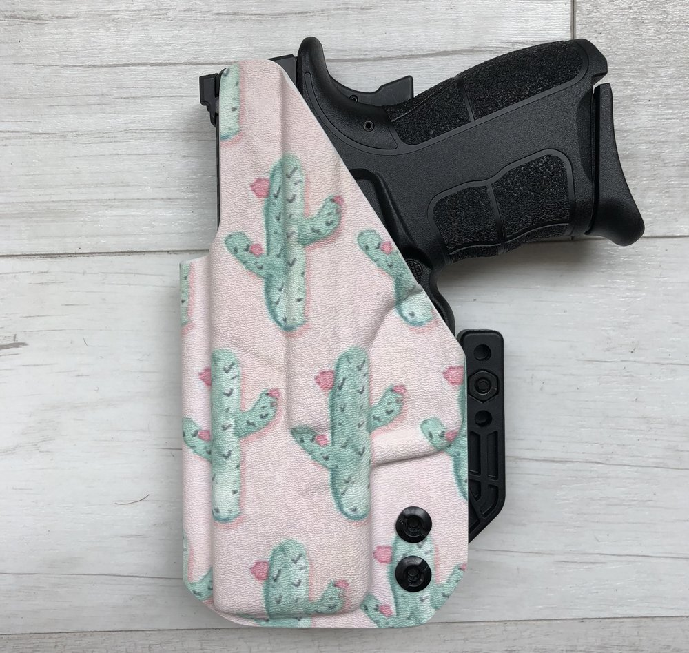 Pink Cactus Wingman Holster from Southern Bullets, $80