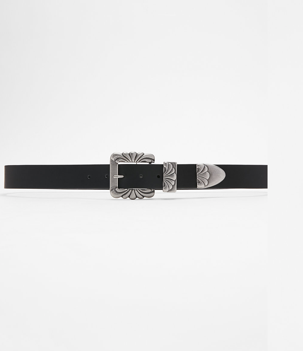 Western Belt Buckle from Express, $39.90   Photo Credit:  Express