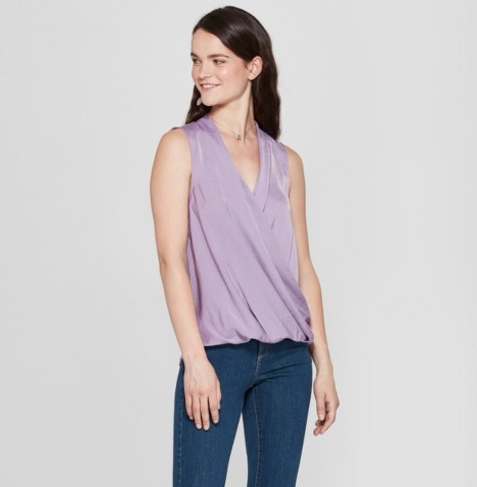 Women's V-Neck Tank, A New Day, $17.08  Photo Credit:  Target