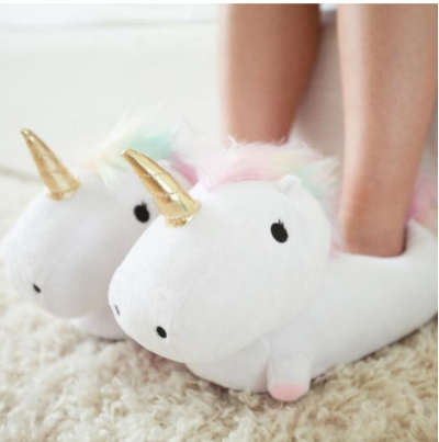 Our client, Smoko Inc.'s Copyrighted Unicorn Slippers