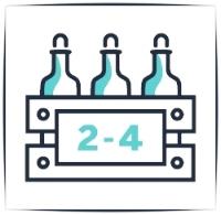 2-4 cases:  Reserve Cabernet: $39.99/bottle Reserve Pinot: $34.99/bottle California Pinot Noir: $22.99 Mendoza Cabernet: $19.99 NZ Sauvignon Blanc: $19.99