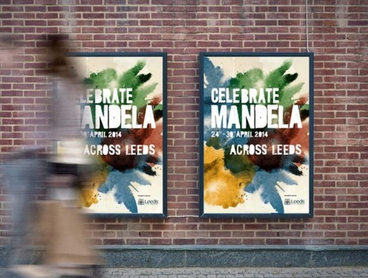 Celebrate Mandela campaign created by Project 53