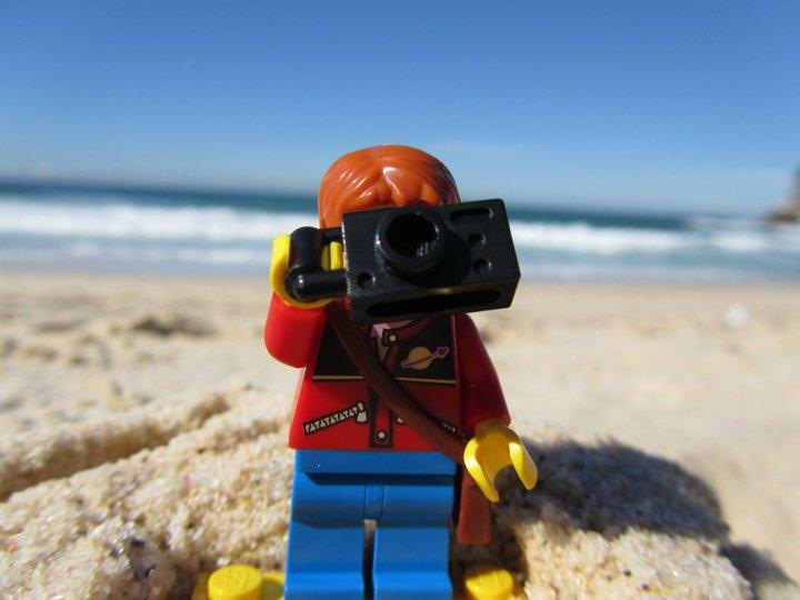 Lego Tourist