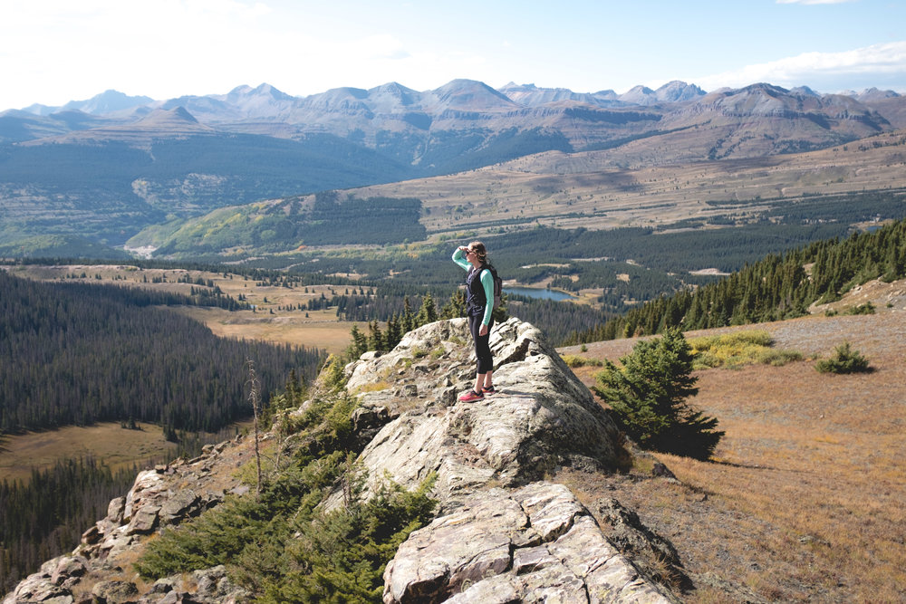 Andrews Lake Area - The higher you hike, the more beautiful! Let us show you one of our favorite locations!
