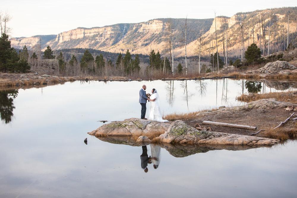 A mountain elopement in Durango, CO