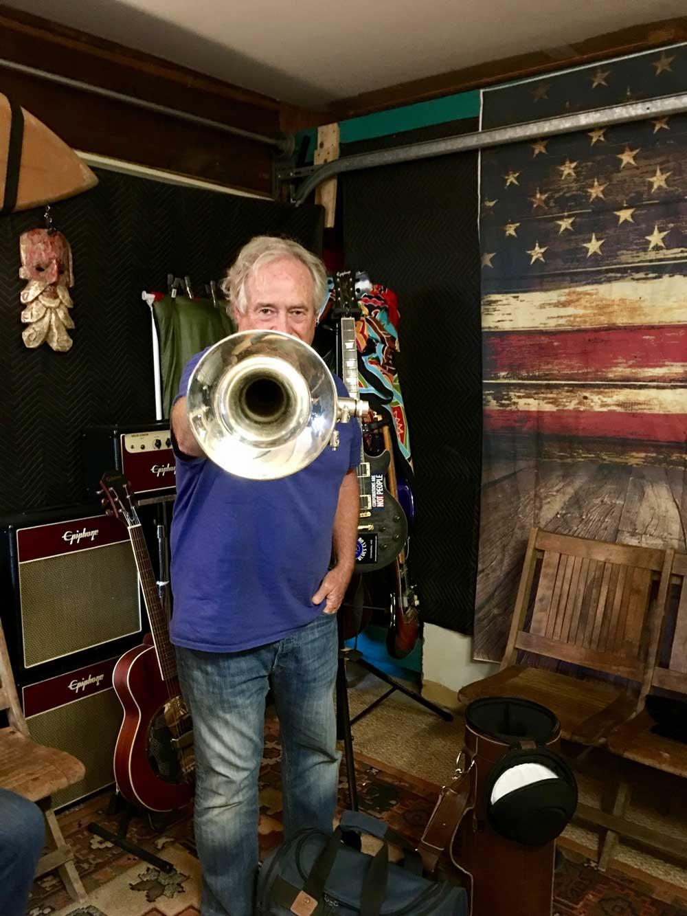 Dan Young, trumpet