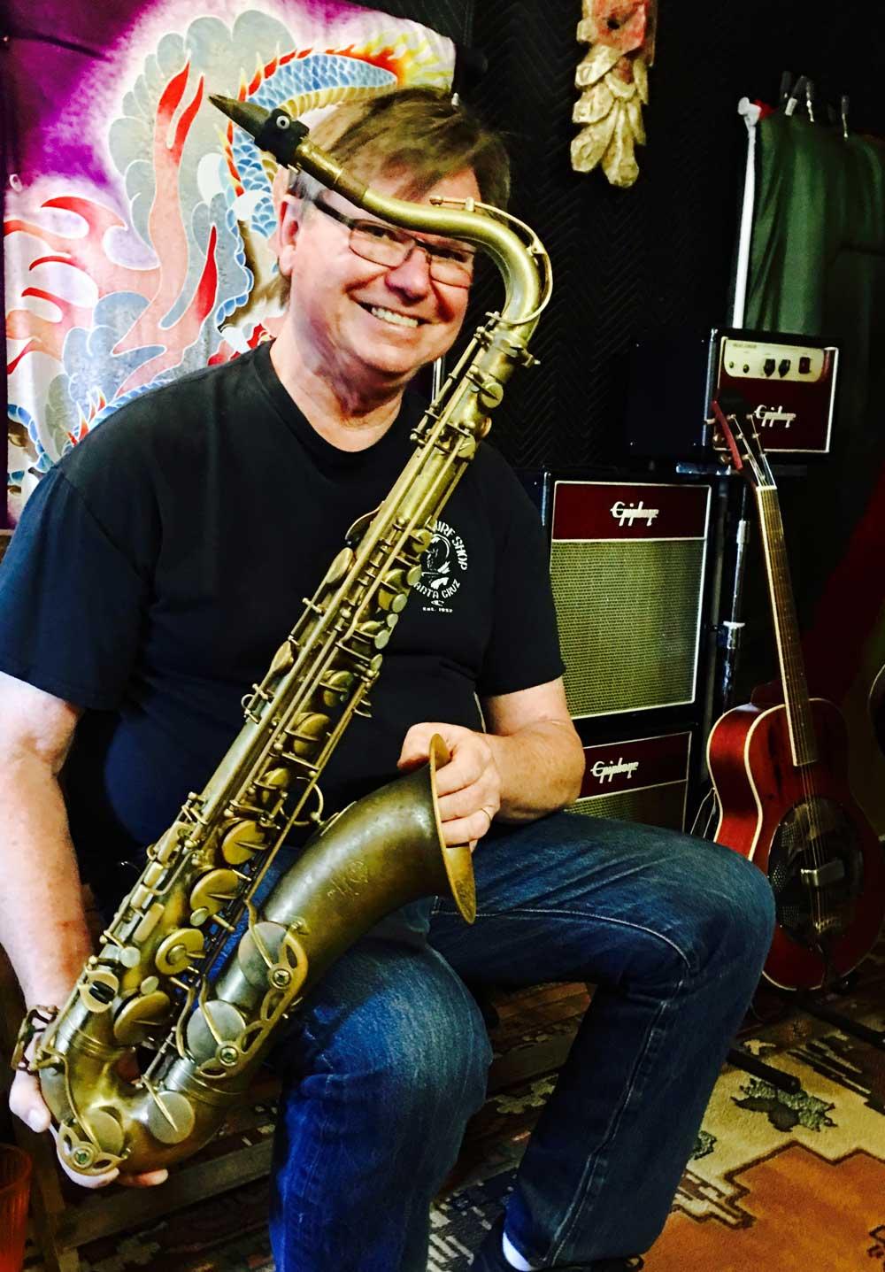 Jim Hannibal, saxaphone