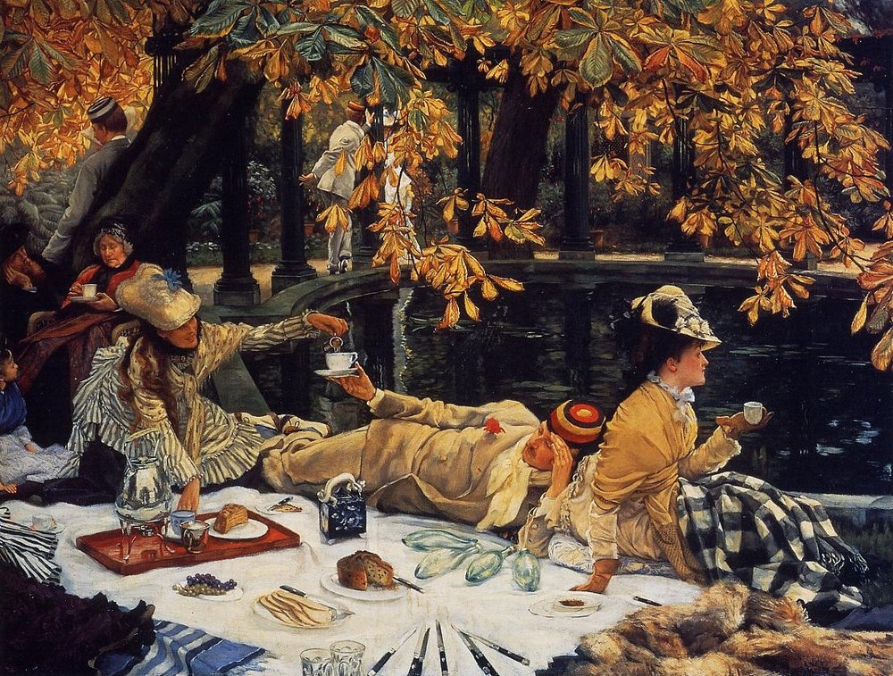 """Holyday"" by James Tissot"