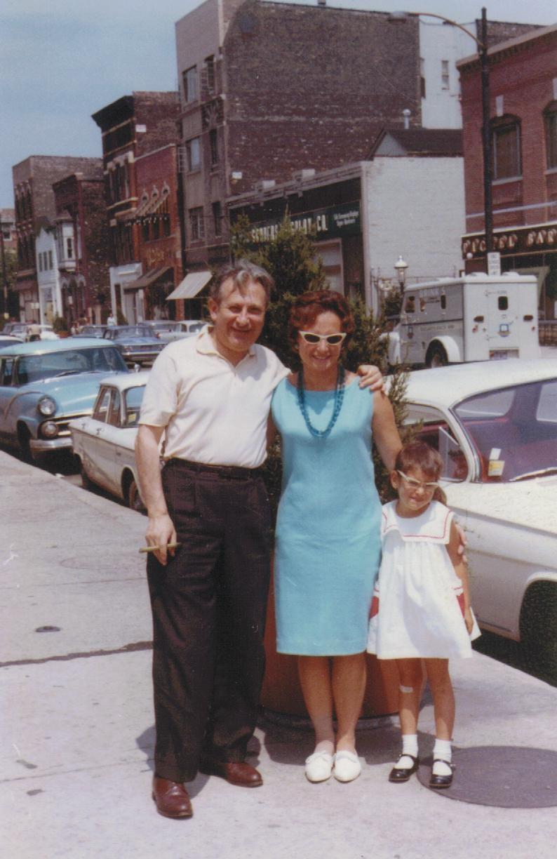 Studs Terkel, Sheila Randall and me circa 1963