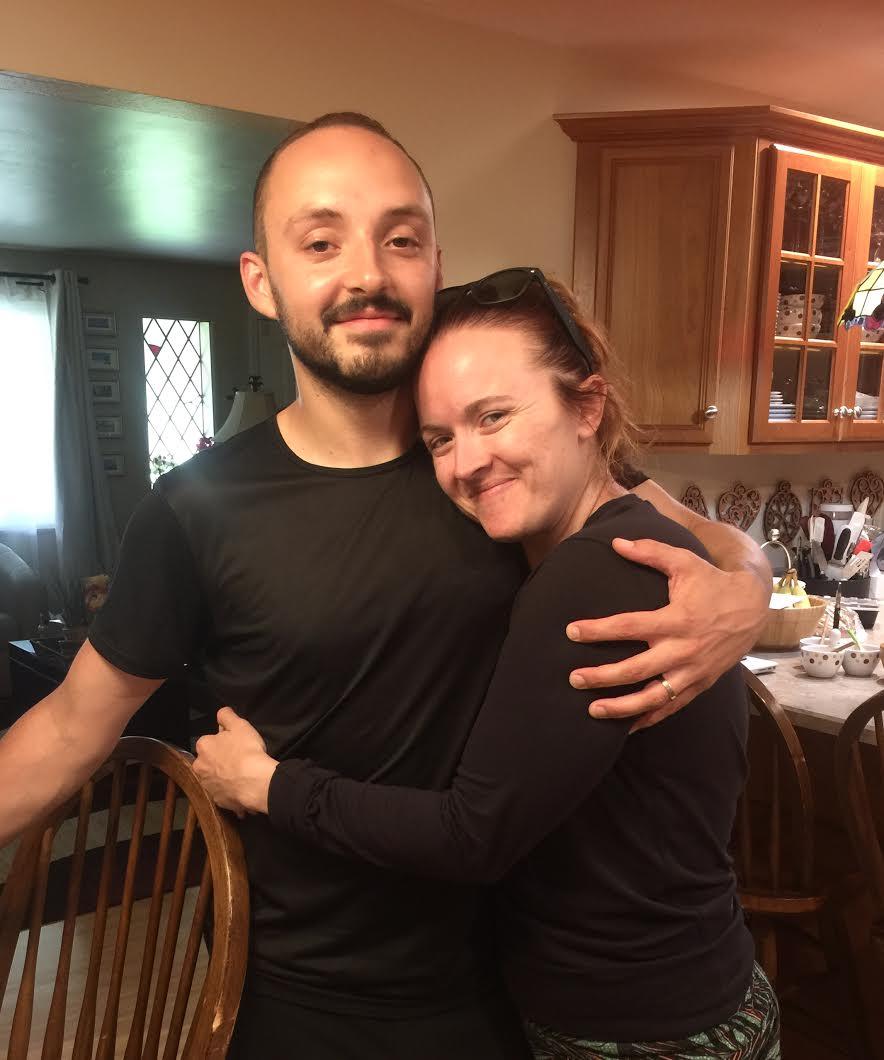 Caitlin Cahill and her husband Jordan Bush