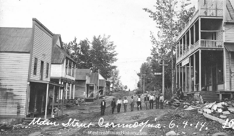103 OB6 cornucopia Oregon gold rush 1914 public domain photograph.jpg