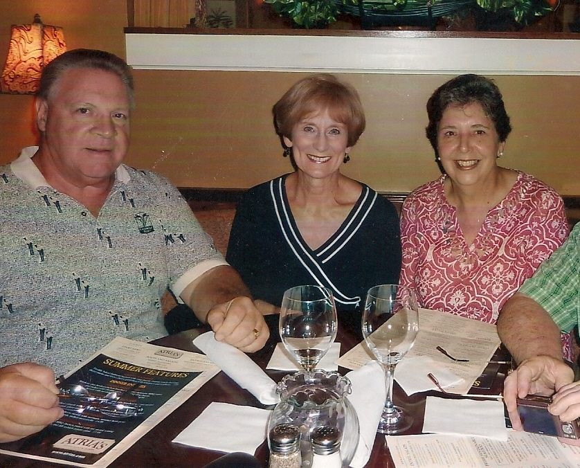 Alex and Sharon Pociask with Kathie at Atria's in McMurray