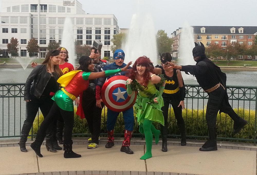 Team Charney Halloween 2013