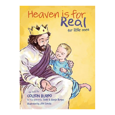 Colton Burpo came back from his trip to heaven with a very important message: Jesus really, really loves children. In an effort to reach even more families with this eternally significant story, Heaven Is For Real is now simplified and told in a board book format for little ones. Young children will receive the same comfort and assurance that so many older kids have received from the picture book.