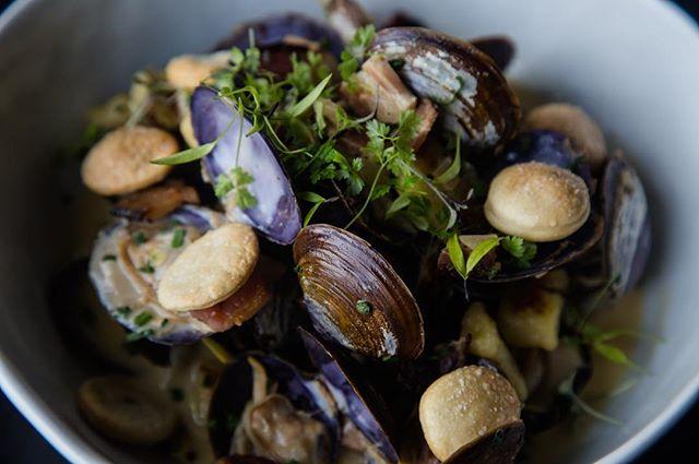 Our take on a gnocchi clam chowder