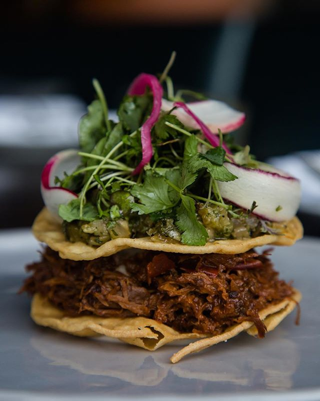 Our tostada is everything. Light kick with a pineapple tang.